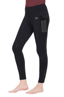 TuffRider Ladies Minerva EquiCool Tights - Black