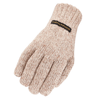 Heritage Gloves Winter Ragg Wool Gloves - Oatmeal Color