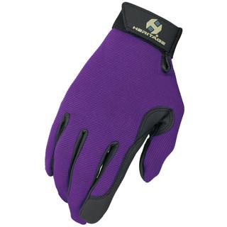 Heritage Adult Performance Gloves - Purple