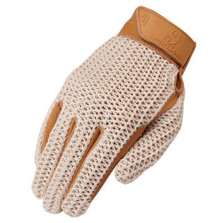 Heritage Gloves Crochet Glove - Tan
