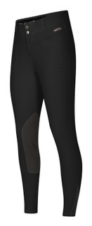 Kerrits Women's Crossover II Knee Patch Breech in Black
