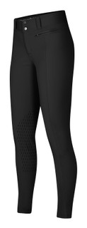 Kerrits Women's Affinity Ice Fil Knee Patch Breech - Black