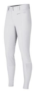 Kerrits Women's Affinity Ice Fil Full Seat Breech - White