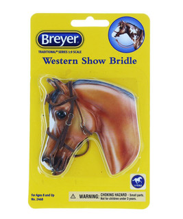 Breyer Horse Accessory Traditional Series English Show Bridle 2459