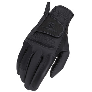 Heritage Gloves Adult Unisex Pro-Comp Riding Glove - Black