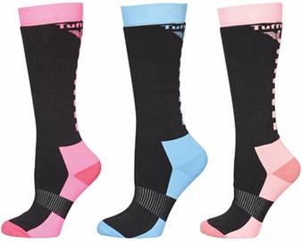 TuffRider Ladies Neon Winter Thermal Knee Hi Socks