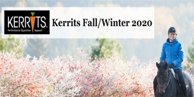 Kerrits Fall and Winter Items for 2020 are coming in!