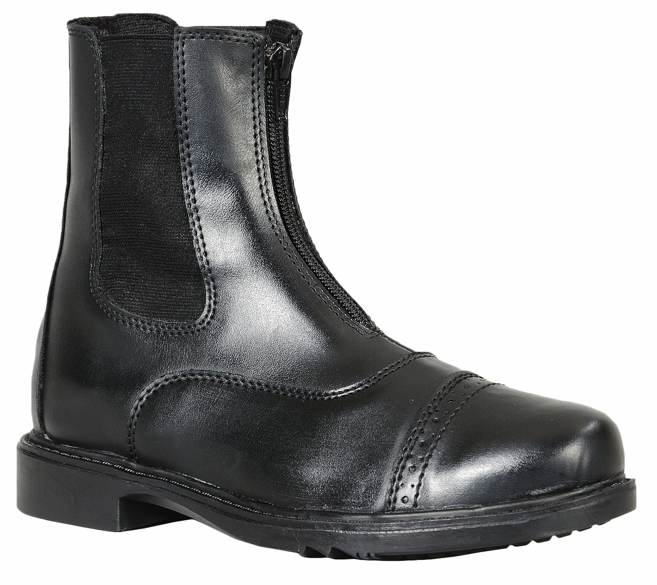 TuffRider Children/'s Starter Lace Up Laced Paddock Boots