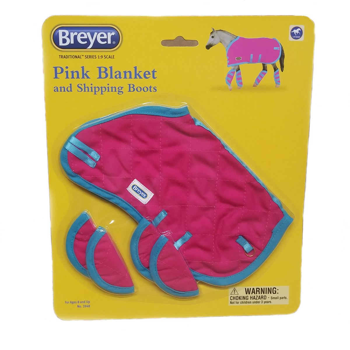Breyer Tack Blanket /& Shipping Boots Hot Pink!