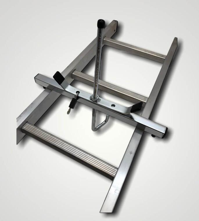 Ladder Clamp on Ladder