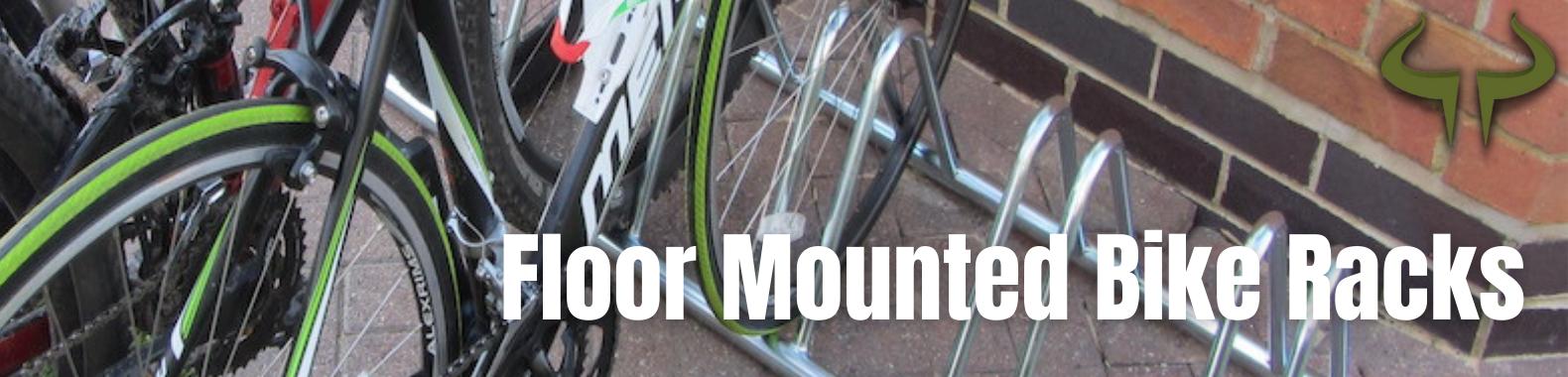 bison products floor mounted bike racks