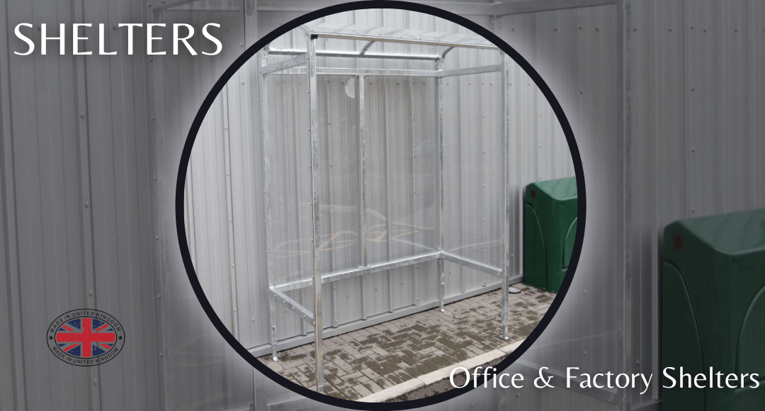 Bison Products Office Smoke Shelters