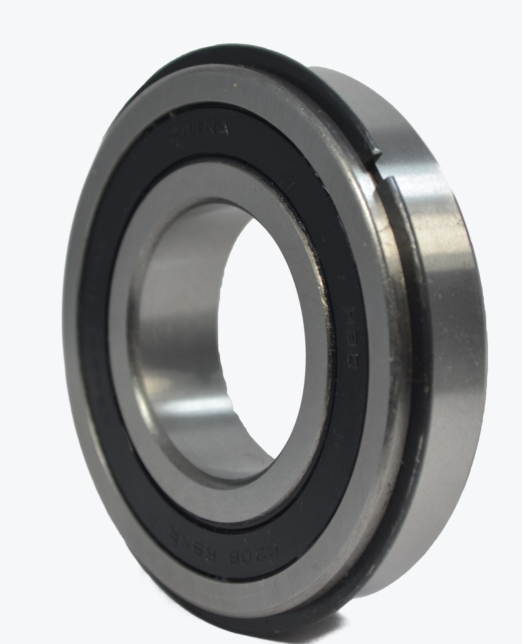 6205-2RSNR  25mm Bore - 2 Rubber Seals with Snap Ring