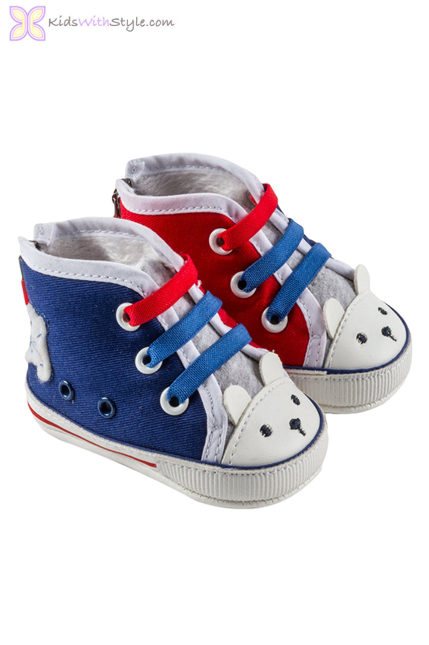 temperament shoes detailed pictures san francisco American Baby High-Top Trainers