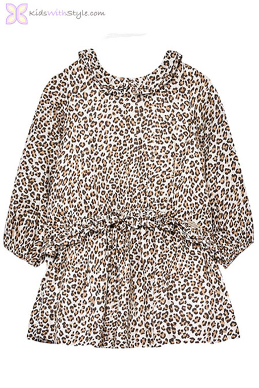 59b45482bf Baby Girl Leopard Print Dress