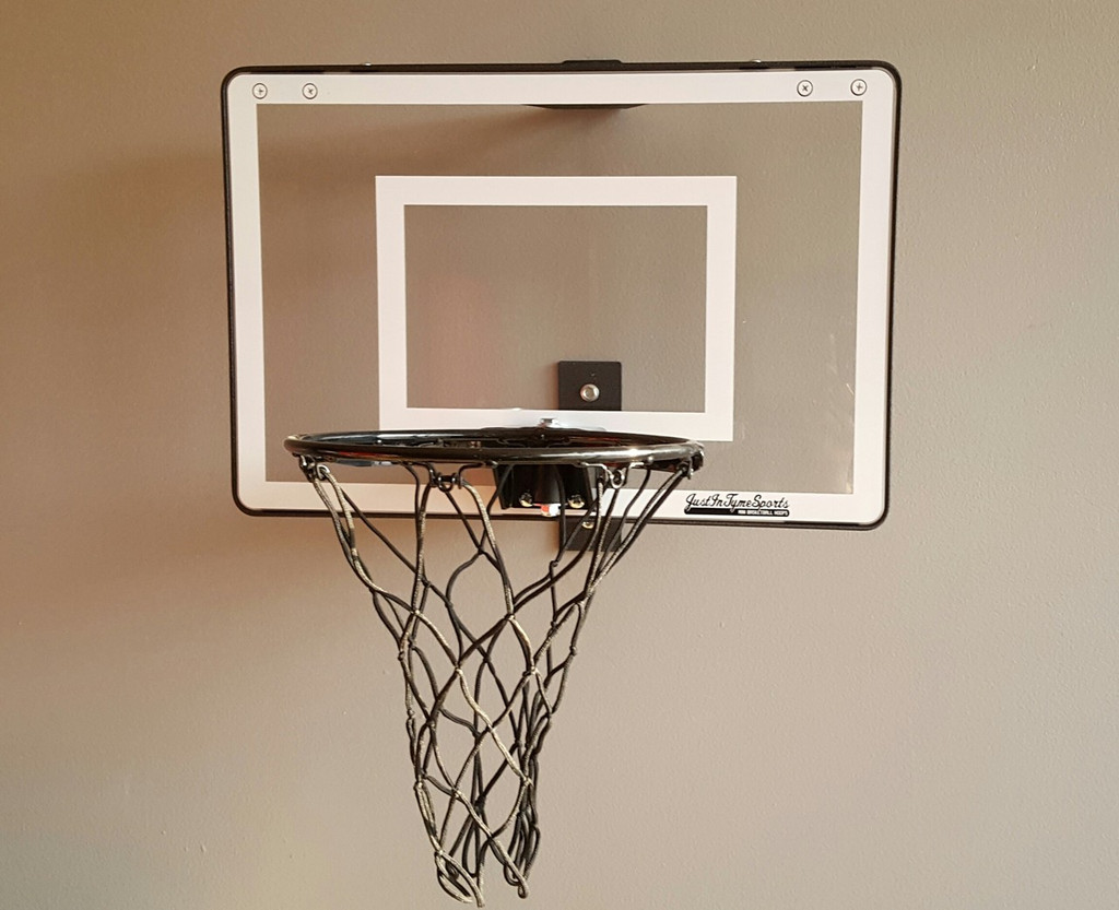 Mini Pro 1.0 Basketball Hoop Set Black