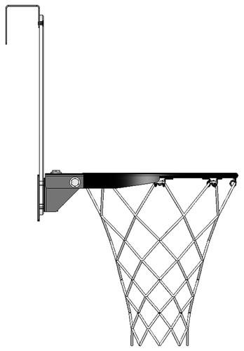 Mini Pro I Door Mount Basketball Hoop Set