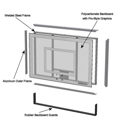Backboard - Exploded View