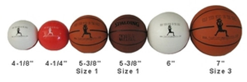 "5"" Mini Pro Rubber Basketball"