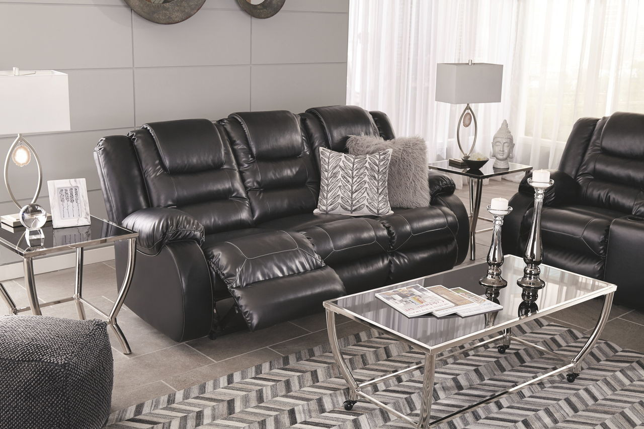 Prime Vacherie Black Reclining Sofa Double Reclining Loveseat With Console Onthecornerstone Fun Painted Chair Ideas Images Onthecornerstoneorg