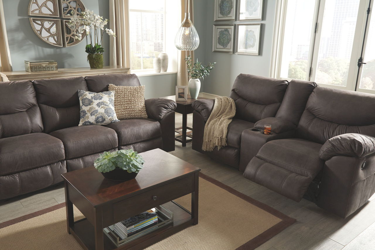 Surprising Boxberg Teak Reclining Sofa Double Reclining Loveseat With Console Pdpeps Interior Chair Design Pdpepsorg