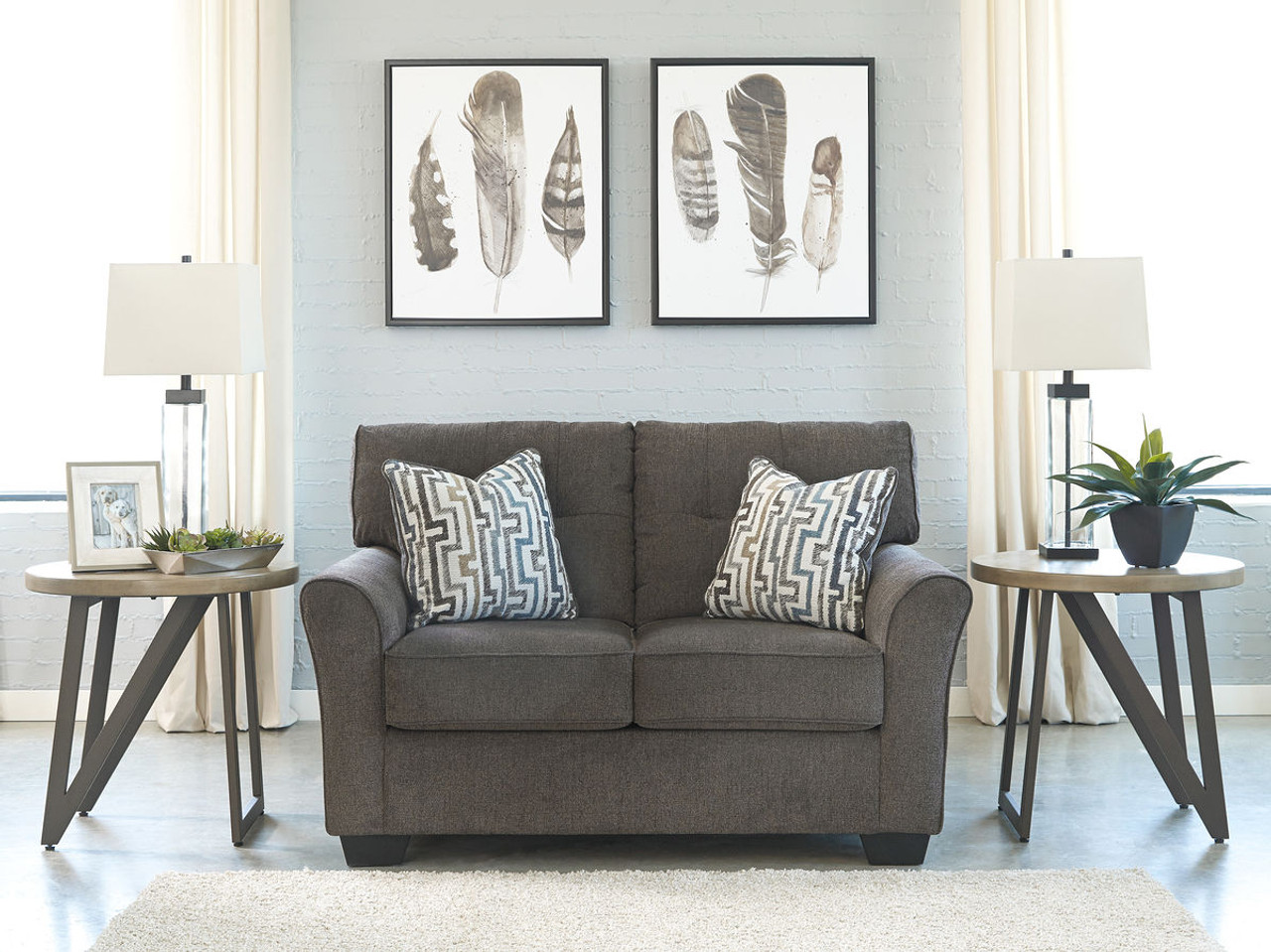 The Alsen Granite Loveseat Available At Dayton Discount Furniture