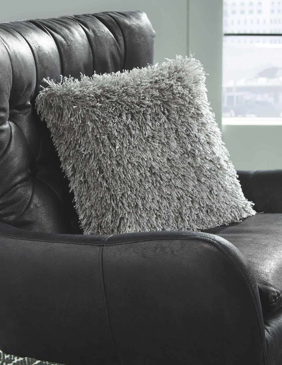 The Jasmen Gray Pillow Available At Dayton Discount Furniture