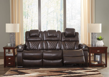 Stupendous The Wyline Coffee Power Reclining Sofa With Adjustable Pdpeps Interior Chair Design Pdpepsorg