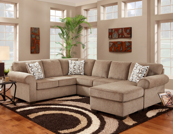 Jesse Cocoa Sectional