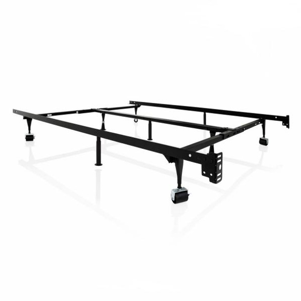Structures Adjustable Universal Bed Frame with Glides