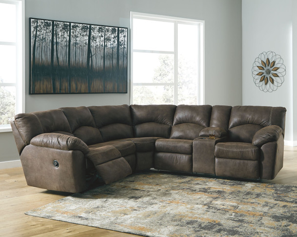 Tambo Canyon LAF/RAF Reclining Loveseat Sectional