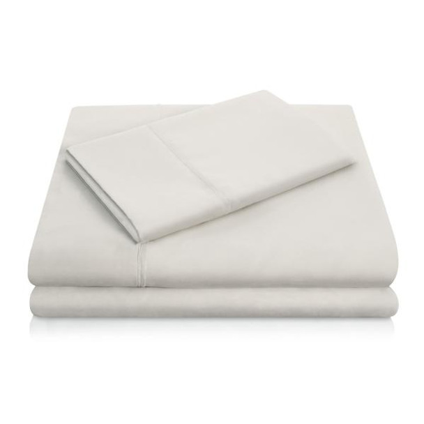 Woven Linen Ivory Brushed Microfiber Sheets