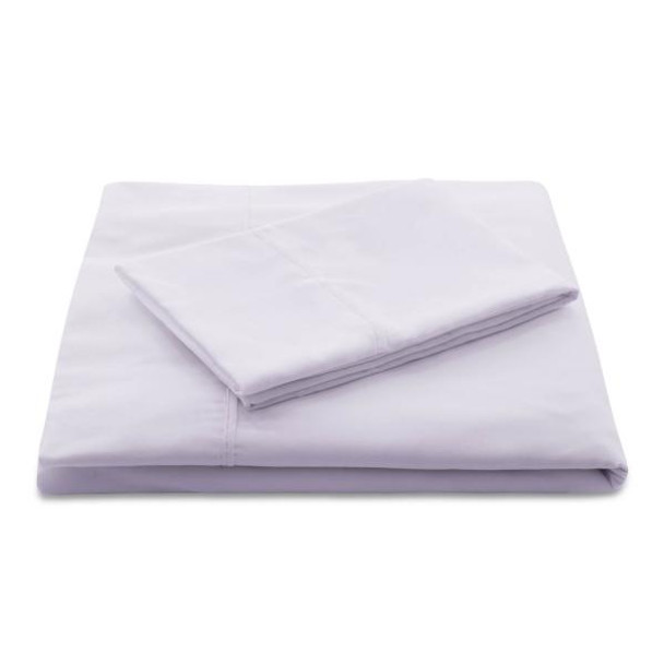 Woven Linen Lilac Brushed Microfiber Sheets
