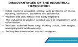Advantages & Disadvantages Of Industrial Revolution