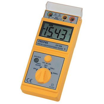 TECPEL Electricals and Electronics Testing Earth Resistance Testers ERT-580