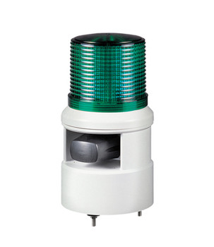 qlight Warning Lights with Sirens LED Steady/Flashing Light & Electric Horn S100DL-WS-24-B