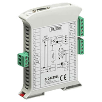 Datexel Data Acquisition And Control Modules With Rs485 Modbus-Rtu Versions DAT3580USB 4W