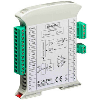 Datexel Data Acquisition And Control Modules With Rs485 Modbus-Rtu Versions DAT 3012