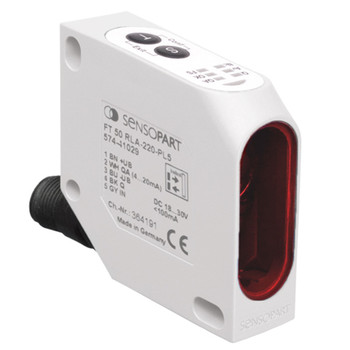 Sensopart Distance Sensors FT 50 RLA 70-PL5 (574-41027)