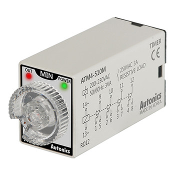 Autonics Controllers Timers ATM4-510M (A1050000193)