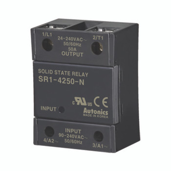 Autonics Solid State Relay ( SSR ) SR1 SERIES SR1-4250-N (A5850000311)