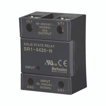 Autonics Solid State Relay ( SSR ) SR1 SERIES SR1-4420-N (A5850000315)