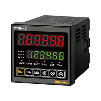 Autonics Controllers Counter & Timer Programmable CTM SERIES CT6M-2P2 (A1000000082)