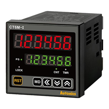 Autonics Controllers Counter & Timer Programmable CTM SERIES CT6M-I2T (A1000000090)
