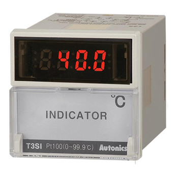 Autonics Controllers Temperature Controllers Indicator T3SI SERIES T3SI-N4NP1C-N (A1500000178)
