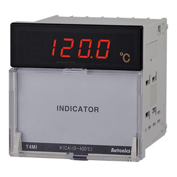 Autonics Controllers Temperature Controllers Indicator T4MI SERIES T4MI-N4NJ4C-N (A1500000209)