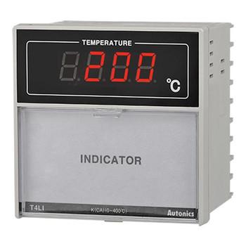 Autonics Controllers Temperature Controllers Indicator T4LI SERIES T4LI-N4NRFC-N (A1500000228)