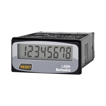 Autonics Controllers Counter & Timer Compact LCD Timer LE8N SERIES LE8N-BV (A1050000169)