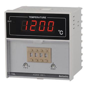 Autonics Controllers Temperature Controllers Digital Switch T4L SERIES T4L-B4RP1C-N (A1500000371)