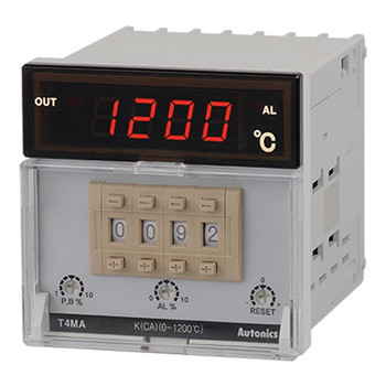 Autonics Controllers Temperature Controllers Alarm Output T4MA SERIES T4MA-B4RK8C-N (A1500000437)